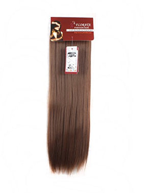 Grade 7A 160g 23-24 Inch Real Thick Double Weft Full Head Clip In Hair Extensions