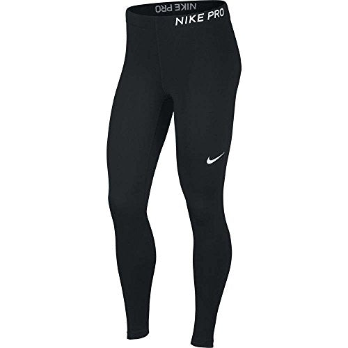 NIKE Women's Pro Tights Black/White Size Medium