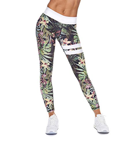 CYMF Skinny Sport Leggings Yoga Pants Capri Exercise Workout Leggings High Waist Gothic Gym Athletic Flexible Elastic Compression Trousers