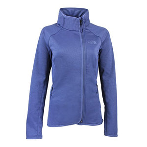 The North Face Women's Arcata Full Zip Jacket (Coastal Fjord Blue, Large)