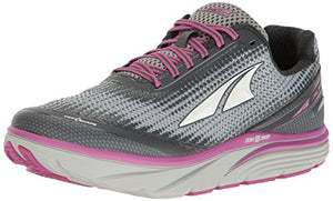 Altra Women's Torin 3 Running Shoe, Gray/Pink, 9 B US