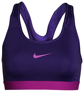 Nike Pro Classic Swoosh Medium Support Sports Bra 849968-547 Large