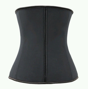 Women Latex Underbust Corset Waist Trainer Cincher Body Shaper Shapewear