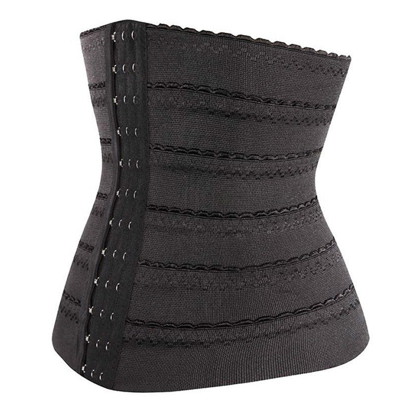 Yasemeen Lace 13 Hook and Eye Waist Cinchers Breathable Shapeware Belt Shaper Body Shaper Slimming Strap Belt Slimming Corset