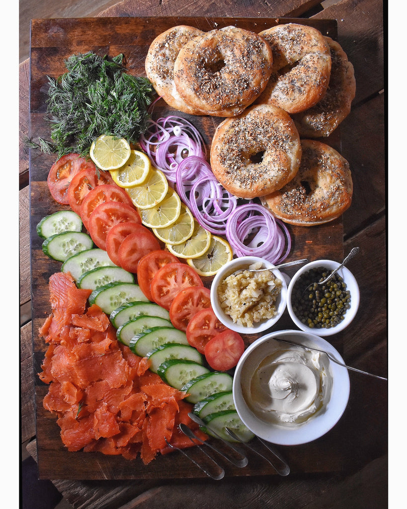 52 Dinners - Week 16: Peace & Gravlax for All