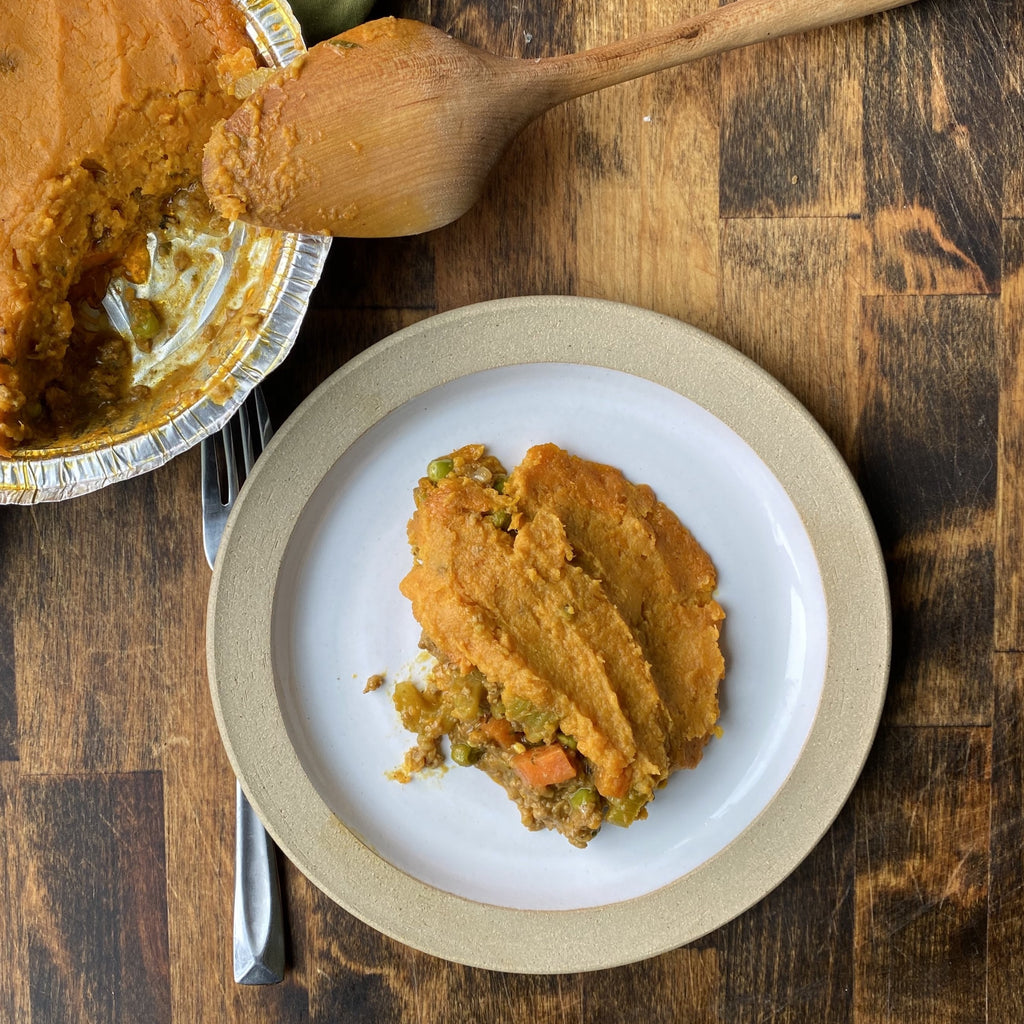 Curried Sweet Potato Shepherd's Pie