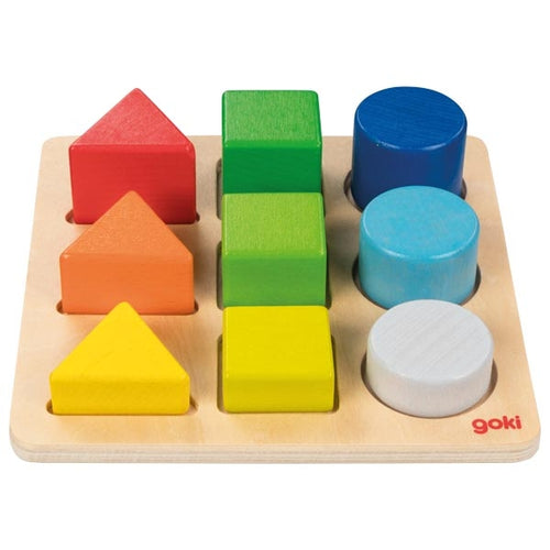 Goki Colour and shape assorting board