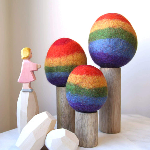 Rainbow Trees (3 pieces)