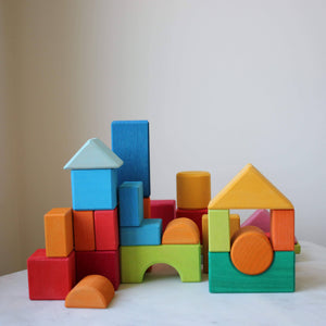 Blocks Geometric Shapes By Gluckskafer.
