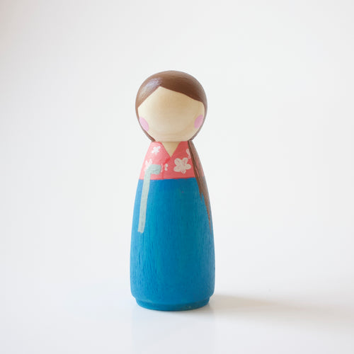 Peg doll - korean dress