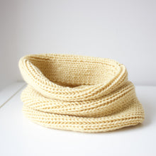 Load image into Gallery viewer, Toddler infinity scarf in yellow
