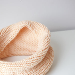 close up of toddler snood