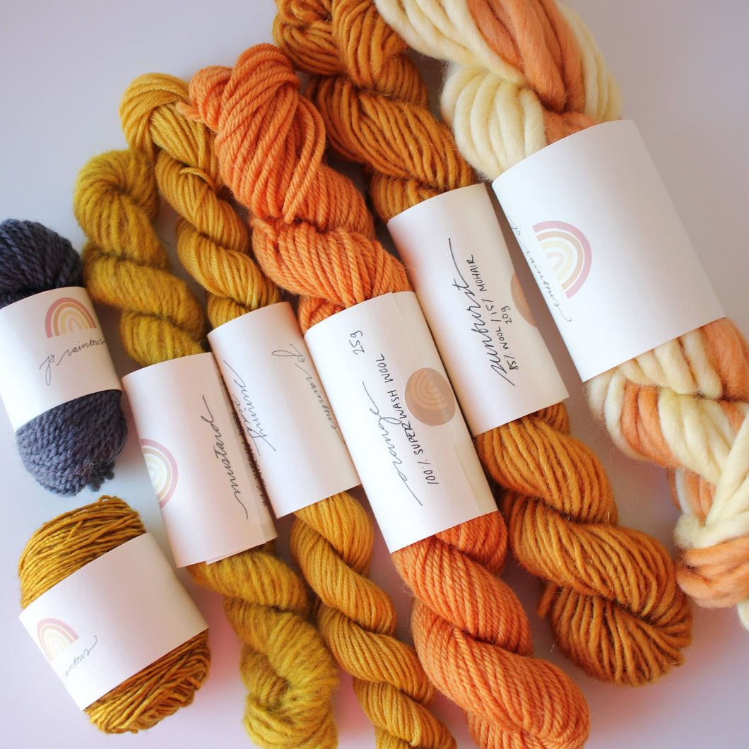 Golden Sunset fibre pack
