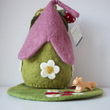 Load image into Gallery viewer, back of papoose strawberry house