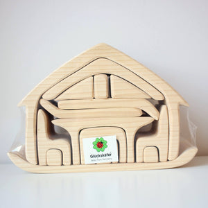 Gluckskafer - All-in House, Natural