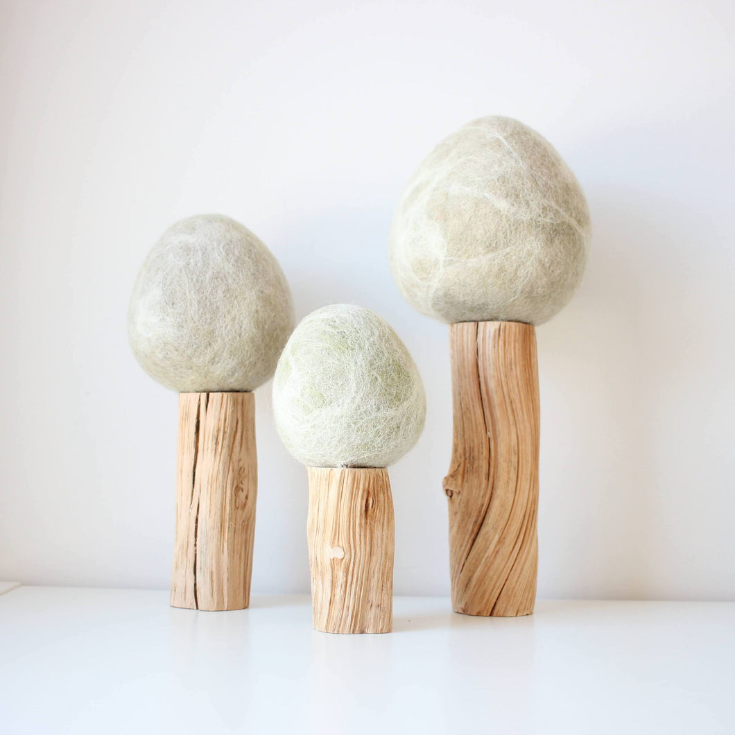 Papoose Winter Trees (3 pieces)