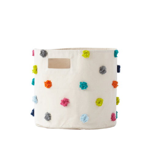Pehr - Pom Pom Bin, Multi Color
