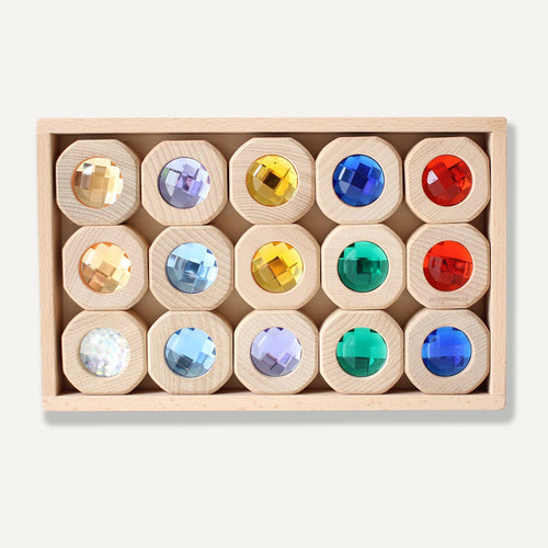 Papoose -  Coins Rainbow Set 15 pcs