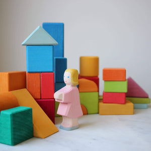 Blocks Geometric Shapes By Gluckskafer with Ostheimer daugther