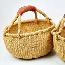 Load image into Gallery viewer, Kid Sized Bolga Basket - Natural