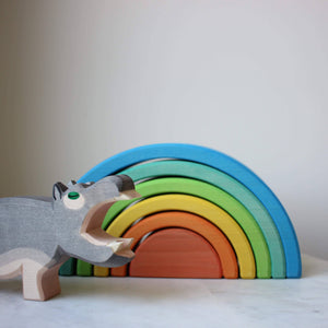 Ostheimer Hippo with Ocamora Rainbow
