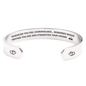 """Straighten Your Crown"" Bangle"