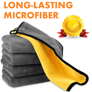 Double-sided Microfiber Cloths (2 Pcs)