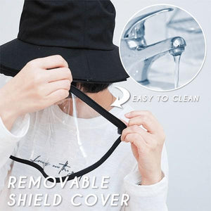 Anti-Droplet Shield Hat