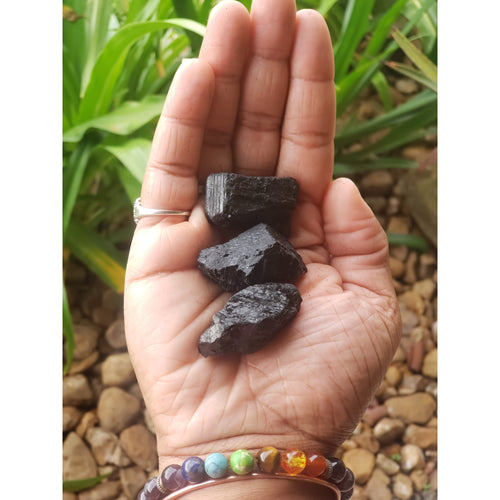 Raw Black Tourmaline Crystal