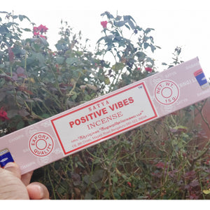 Satiya Positive Vibes Incense Sticks