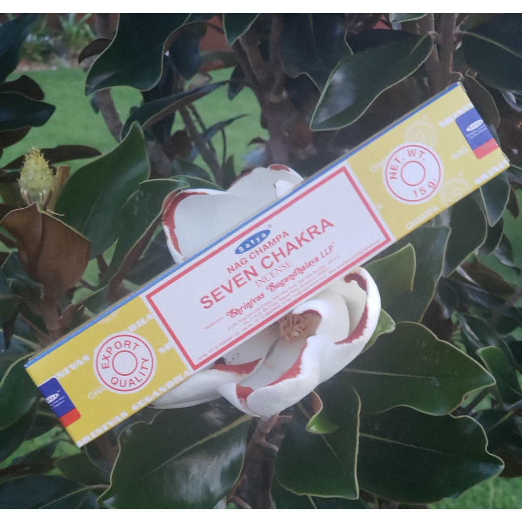 Satiya Seven Chakras Incense Sticks