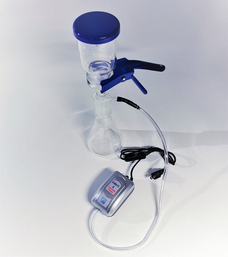 500ml Lab Filtration Kit with Filtr8 Lab Pump- UK Version