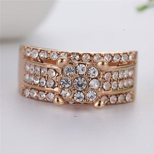 Micro Pave Iced Out Bling Bling Square Ring Men's *NEW*