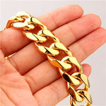 5mm TO 12mm MIAMI CUBAN LINK CHAIN NECKLACE - a-m-clothing-shoppe
