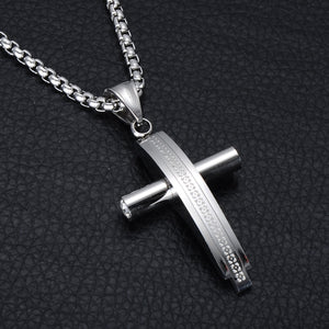 Two Tone Cross Pendant *NEW* - A&M