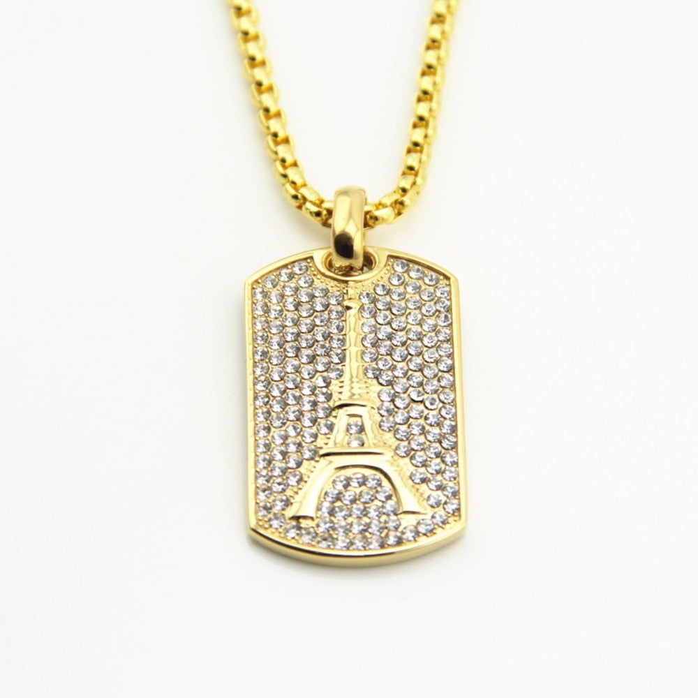 Full CZ Iced Pendant *NEW* - a-m-clothing-shoppe