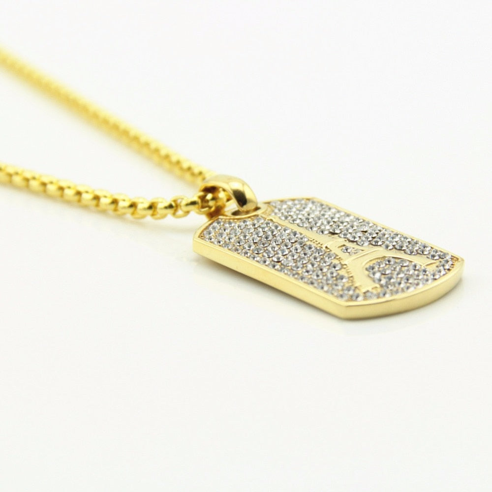 Full CZ Iced Pendant *NEW*