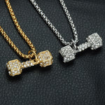 Barbell Pendant & Necklace Set *NEW