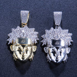 Iced Out Cartoon Pendant & Necklace *NEW*