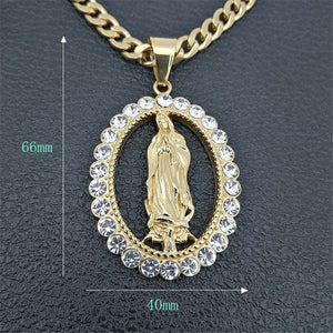 Big Virgin Mary Necklace & Pendant *NEW*