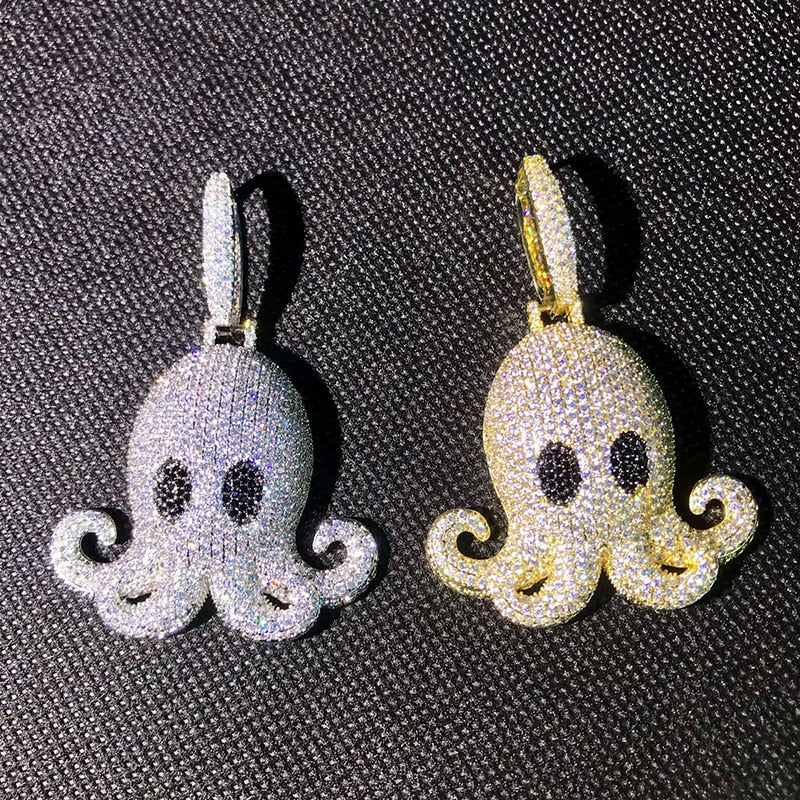Octopus Pendant & Necklace *NEW*