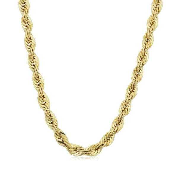 4.2mm Rope Chain Necklace