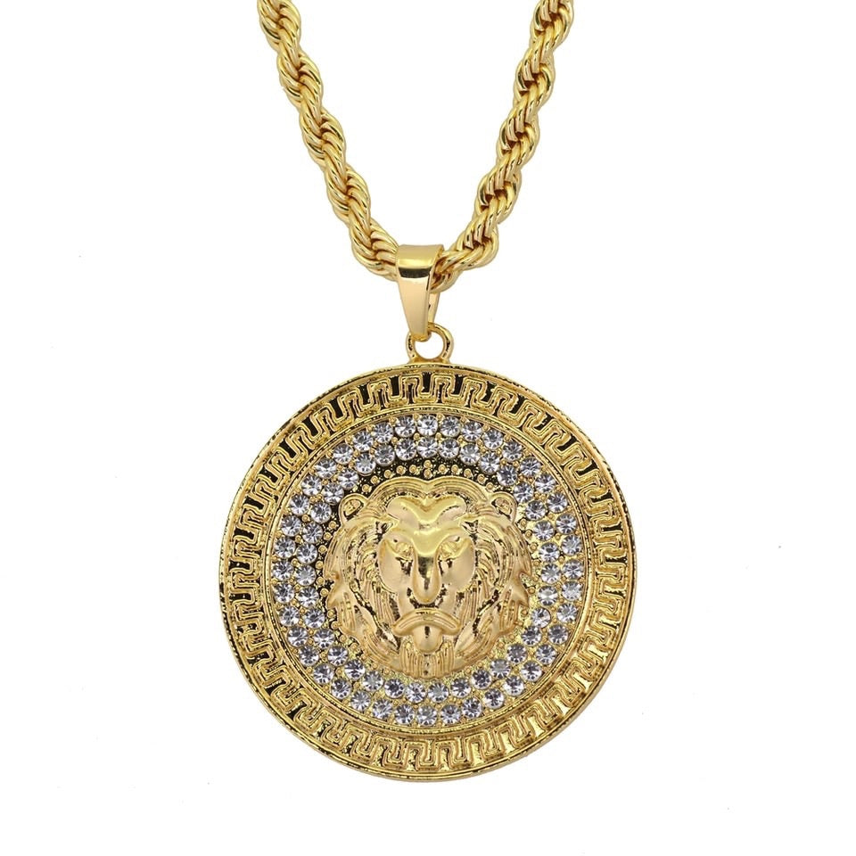 18K GOLD Lion Pendant *NEW* - A&M