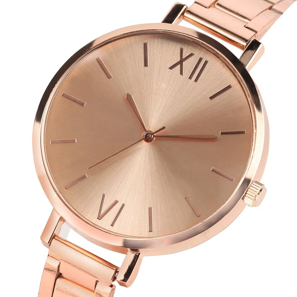 Rose Gold Luxury Watch *NEW* - A&M