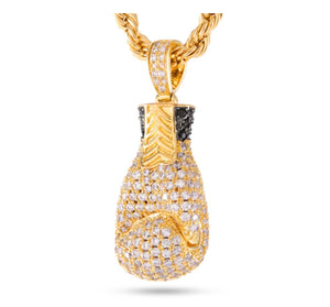 The 14k Gold Boxing Glove Necklace - A&M