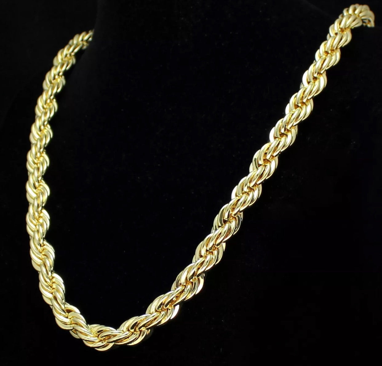10K Special* Yellow Gold Rope Chain 4mm*1-3 Day Shipping*