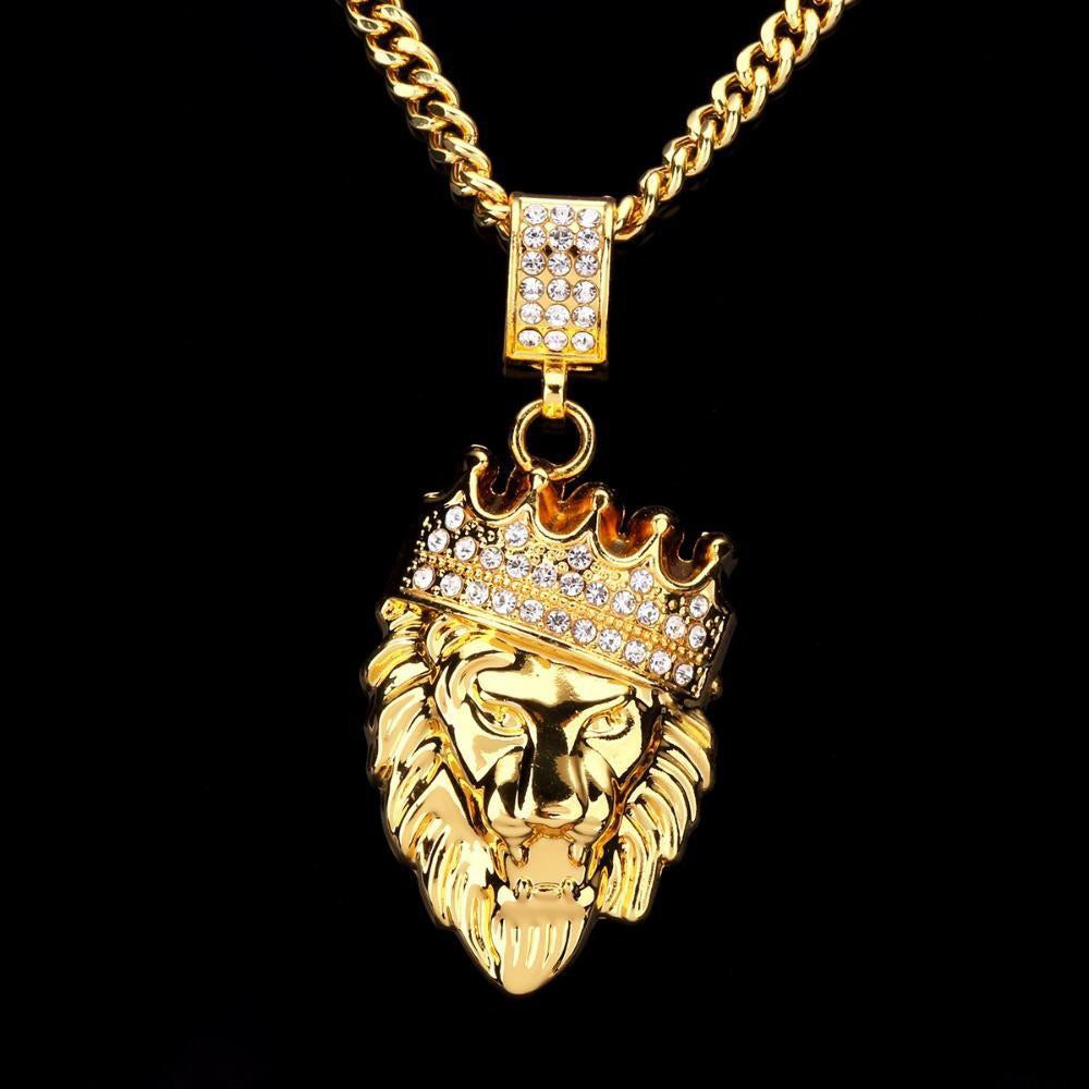 CROWN LION KING PENDANT *NEW* - A&M