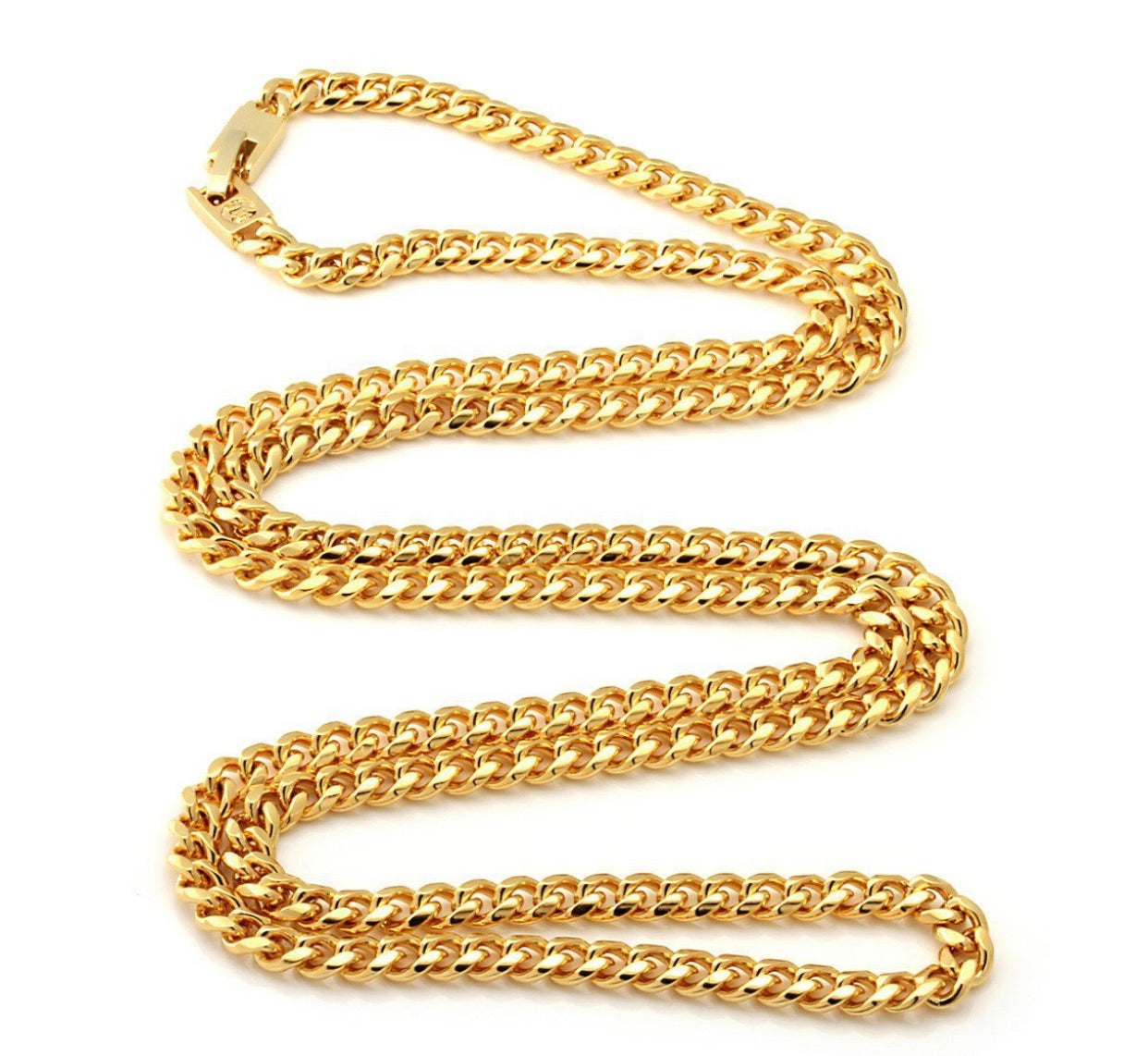 14K Gold 5mm, Miami Cuban Curb Chain - A&M
