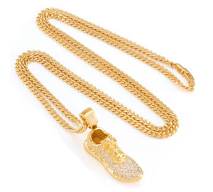 The 14K Gold Lifestyle Shoe Pendant - A&M