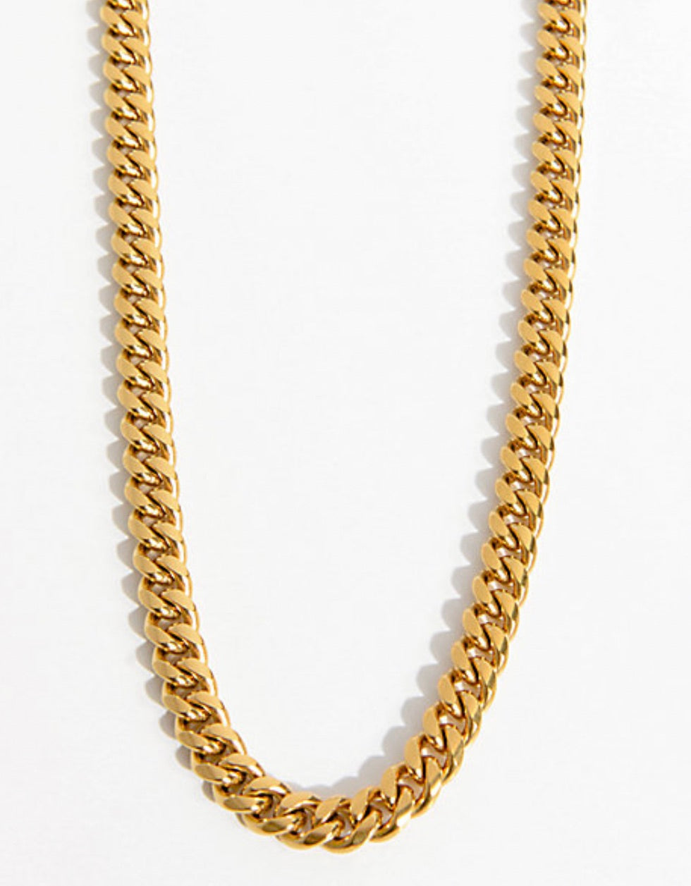 8mm Miami Cuban Link Necklace - a-m-clothing-shoppe